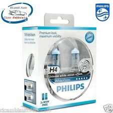 LAMPADE PHILIPS White Vision H4 Jeep Grand Cherokee 10/95 04/99 4300K +2 T10 W5W