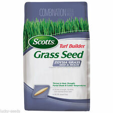 Scotts Zoysia Grass Seed + Mulch - 5 Lbs.