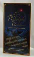 A VERY RUDOLPH CHRISTMAS BY VARIOUS ARTISTS (3 CD, 1999, GOODTIMES) FREE SHIP