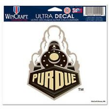 "Purdue Boilermakers 5""x6"" Ultra Decal [NEW] Car Auto Static Cling Sticker CDG"