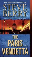 The Paris Vendetta - Steve Berry (Cotton Malone Series) Paperback Free Shipping!