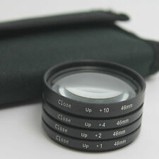 46mm Macro Close Up +1 +2 +4 +10 Lens Filter Kit For Panasonic Olympus Camera