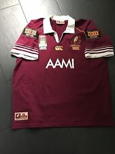 QUEENSLAND MAROONS STATE OF ORIGIN RUGBY LEAGUE REPLICA SHIRT - 3XL NEW 25 YEARS