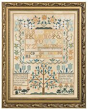 Bucilla Smithsonian Sampler Counted Cross Stitch Kit, 45960 12 by 15.5-Inch, New