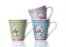 Ritzenhoff & Breker 3 Kaffeebecher Set Papageno Porzellan je 280 ml 098945