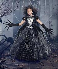 CHASING FIREFLIES NEW Spider Queen Costume Dress up Cape Girls $92 8 GIFT