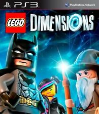 Lego Dimensions (PS3 Playstation 3) - REPLACEMENT GAME ONLY - FREE SHIPPING -NEW