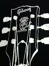 Gibson Angus Young Signature SG Guitar Custom Sleeveless Shirt XL NEW 2 Sided