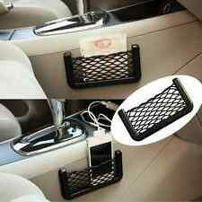 Car Storage Mesh Net Resilient String Phone Bag Holder Organizer For Hyundai Kia