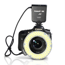 Aputure Amaran Halo AHL-HC100 100 LED Macro Ring Flash Light for Canon DLSR Came