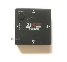 New 1080P HDMI Switch 3 out of 1 Signal Audio Video KVM For TV LCD DVD DLP