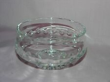 Waterford Lead Crystal Heavy Footed Large Bowl 7 1/4""