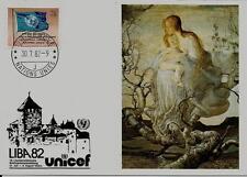 Schweiz UNO PK MiNr 2 Freimarken: Flagge der UNO 1