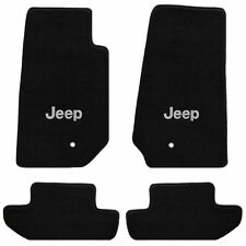 Jeep Wrangler 4 Pc All Weather Carpet Floor Mats JEEP Logo fits 2007-2010 2 Door