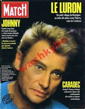 Paris Match n°1958 du 05/12/1986 Johnny Halliday Le Luron Loïc Caradec Arthaud