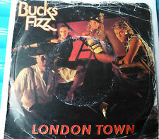 "BUCKS FIZZ -  London Town / Identity 1983 7"" Vinyl Single"