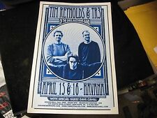 Tim Reynolds & TR3 of the Dave Matthews Band Cardboard Concert Poster 12X18