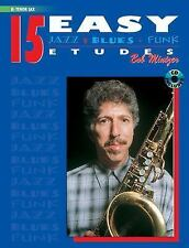 15 Easy Jazz, Blues and Funk Etudes : B-Flat Tenor Sax, Book and CD (2000,...