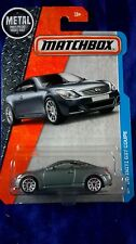 Matchbox Infiniti G37 Coupe MBX Adventure City Die-Cast 1:64 Scale Gray Vehicle