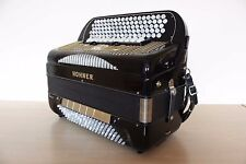 Accordion Hohner Gola VC Chromatic Harmonica 120 Bass C-System Cassotto Musette