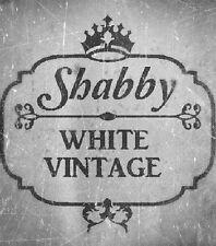 Shabby Chic vintage stencil galería de símbolos francia muro de muebles textil visillos