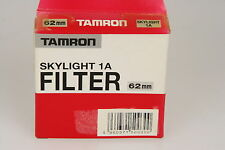 Tamron Skylightfilter 1A, Ø62mm in OVP