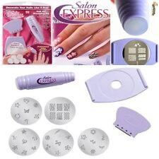 8er Set Fingernagel Stempelmaschine Stempel Nail Art Stamping Nagel 34 Muster