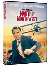 NORTH BY NORTHWEST 1959 ALFRED HITCHCOCK CARY GRANT WARNER UK REGION 2 DVD NEW