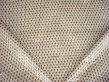 6Y LEE JOFA MOSS / SILVERY BEIGE DIAMOND WOOL BLEND VELVET UPHOLSTERY FABRIC