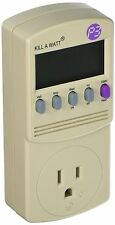 P3 P4400 Kill A Watt Electricity Usage Monitor by P3 [Ivory] NEW FREE SHIPPING