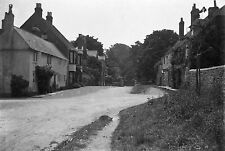 1910s WINCHELSEA #1 Antique Photographic Glass Negative (Street Tea Room Sussex)