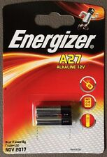 De 2 Paquet Pile Alcaline Energizer 12V Volt A27 27A MN27 8LR50