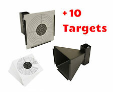 METAL TARGET HOLDER PELLET CATCHER TRAP AIRGUN AIR RIFLE PISTOL GUN PRACTICE NEW