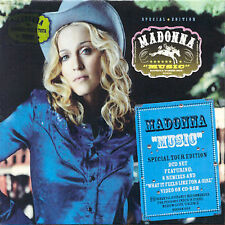 Music [Bonus CD] by Madonna (CD, Jun-2001, Wea/Warner)