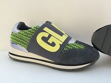Scarpe shoes sneakers Fornarina 39 grigie gray gialle yellow donna woman rialzo
