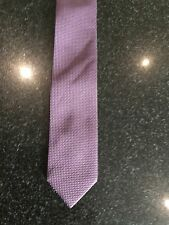 STYLISH ARMANDO CARUSO TIE DEEP PURPLE & GREY NWOT