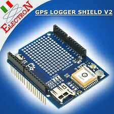 GPS LOGGER SHIELD V2 - GTOP-PA6H + Micro SD slot - Ultimate Adafruit ARDUINO