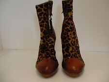 Women's ugg collection leopard boots size 11 made in Italy