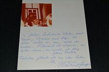 Michael gampe signed autógrafo en persona + complemento Austria. schausp. Gloomy Sunday