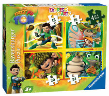 Tree Fu Tom 4 In A Box Ravensburger Jigsaw Puzzle 12/16/20/24 Pieces