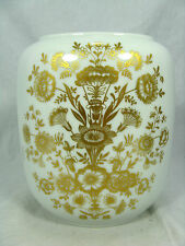 Rich decorated 70´s design Heinrich  Porzellan #  porcelain vase  2177   18,5 cm