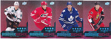 14-15 Black Diamond Victor Rask /150 Rookie Quad Ruby Hurricanes 2014