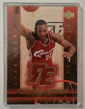 03-UD LeBRON JAMES ROOKIE EXCLUSIVES STAR ROOKIES JERSEY RC CARD! Cleveland Cavs