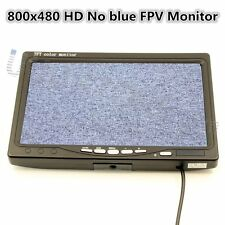 7 inch LCD TFT FPV 800x480 Monitor with No blue FPV Monitor Photography for DJI
