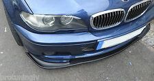 BMW E46 M Sport Bumper spoiler lip Chin tuning M Power tech mt2 not Carbon CSL