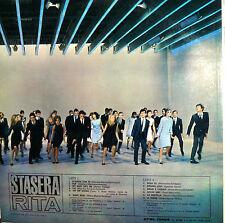 RITA PAVONE LP RCA  I° STAMPA 1966 STASERA RITA ( RENATO ZERO )