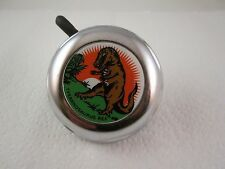 "VINTAGE NOS  2-1/4"" REICH - DINOSAUR / T-REX BICYCLE BELL - VERY NICE!"