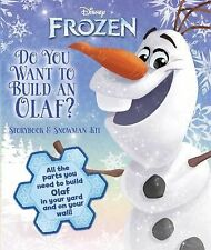 Disney Frozen - Do You Want to Build an Olaf? : Storybook and Snowman Kit...