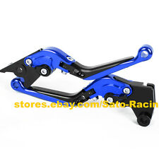 CNC Foldable Extendable Adjust Brake Clutch Levers Set For Yamaha YZF-R15 12-14
