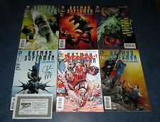 BATMAN SUPERMAN #1 signed #2 3 4 5 & 3.1 3D GREG PAK 1st print set (6) DC movie